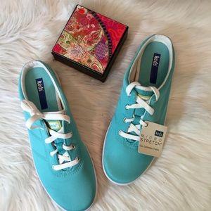 NWT, Keds Grace Aqua Mules Sneakers, 8